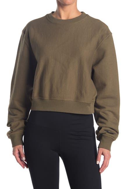 Image of REEBOK BY VICTORIA BECKHAM Cropped Sweatshirt
