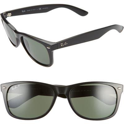 Ray-Ban 5m Polarized Square Sunglasses - Blk Pol