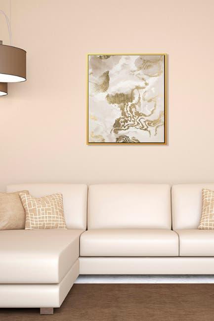 Image of PTM Images Geode-Small Floater Framed Canvas