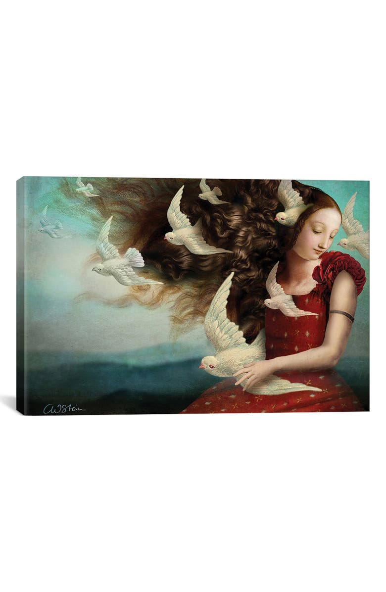 ICANVAS Memories II by Catrin Welz-Stein Giclée Print Canvas Art, Main, color, WHITE