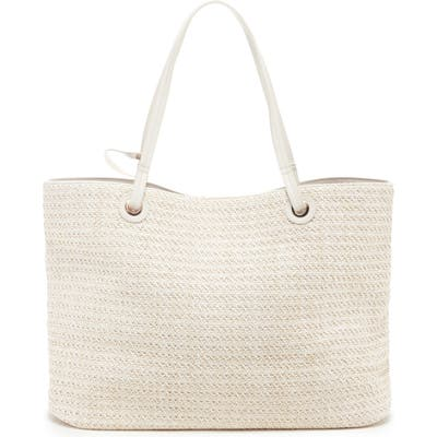 Sole Society Apryl Woven Tote - Ivory