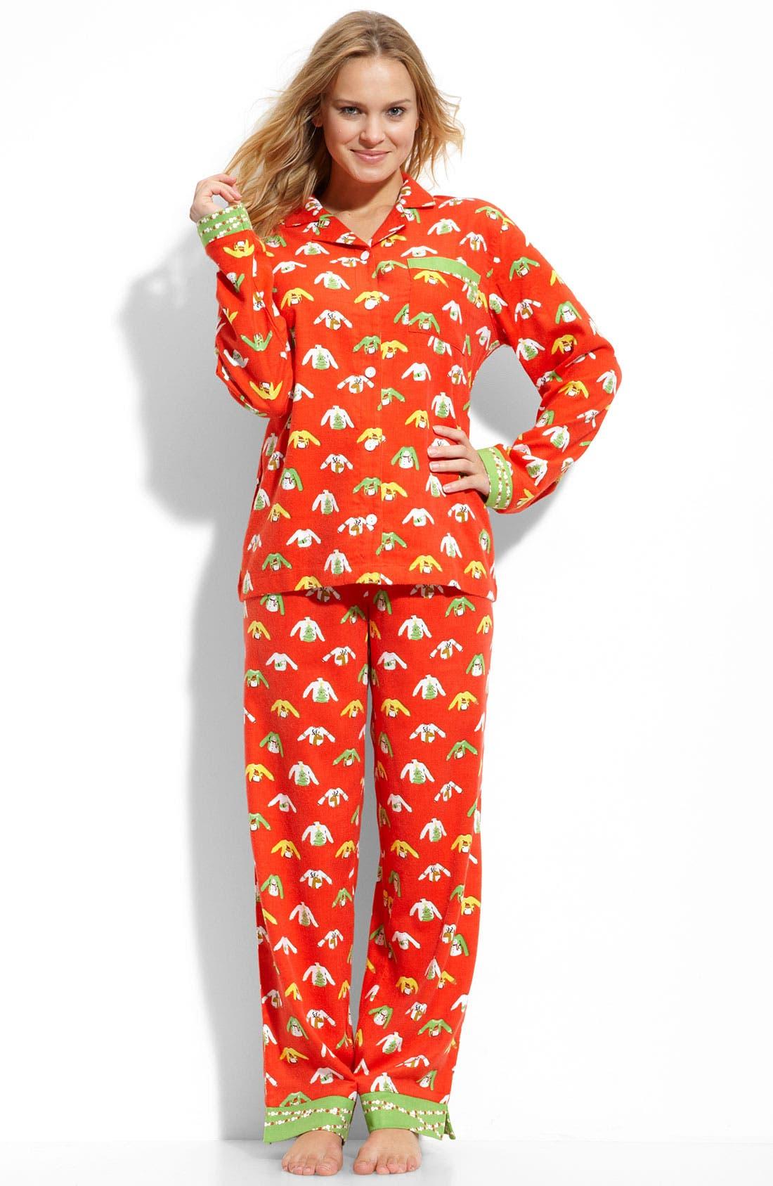 ,                             Flannel Pajamas,                             Main thumbnail 67, color,                             610
