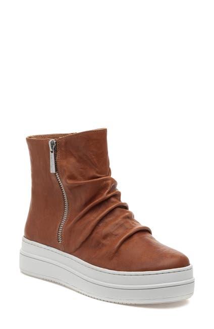 Image of J/Slides Tina Platform High Top Sneaker