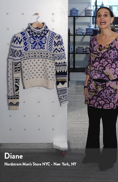 Turtleneck Nordic Sweater, sales video thumbnail