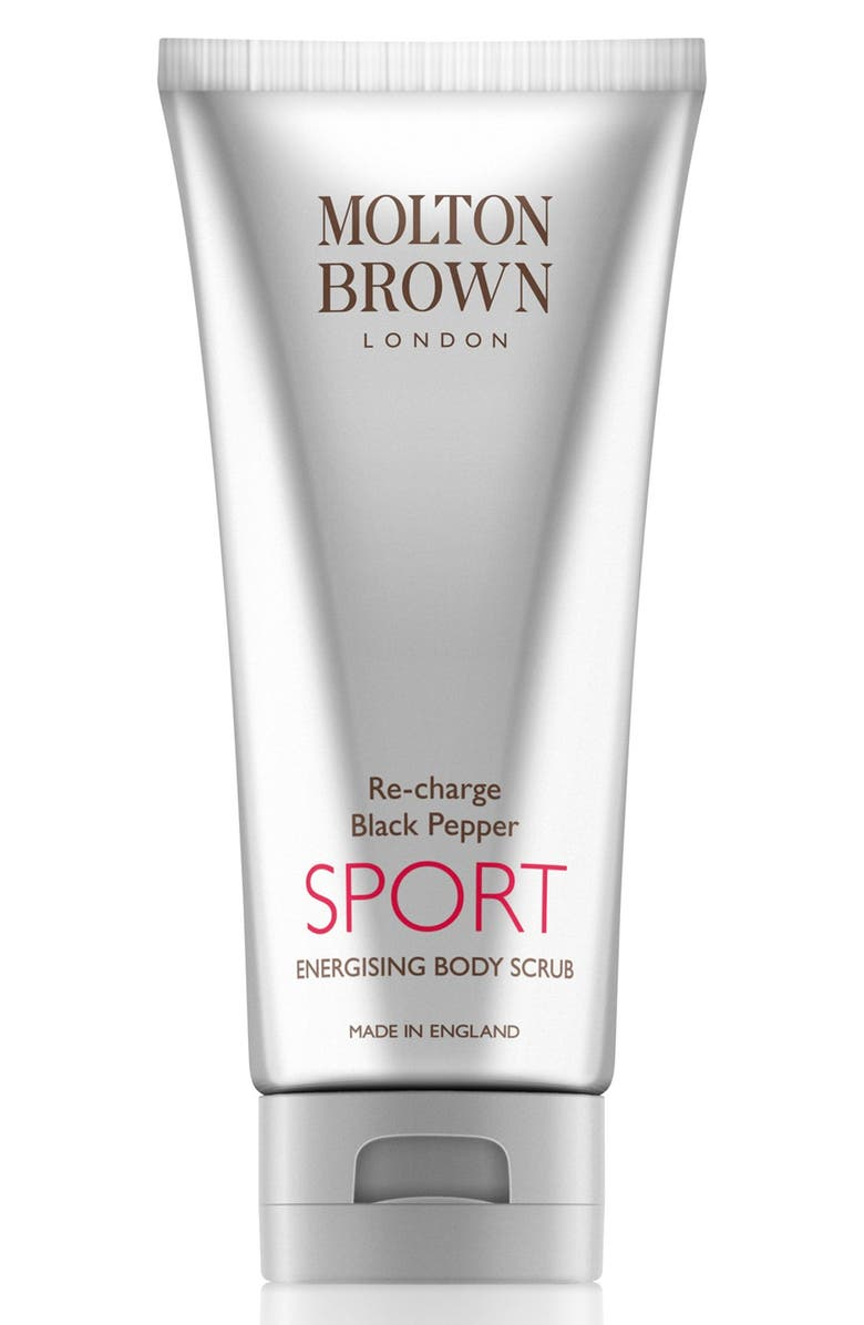 MOLTON BROWN LONDON Re-charge Black Pepper Sport Energizing Body Scrub, Main, color, 000
