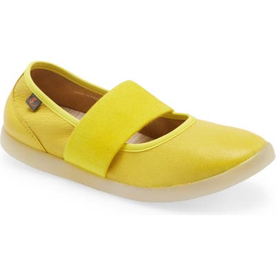 Softinos By Fly London Lynn Flat, Yellow