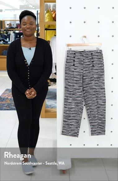 Tweed Knit Sailor Pants, sales video thumbnail