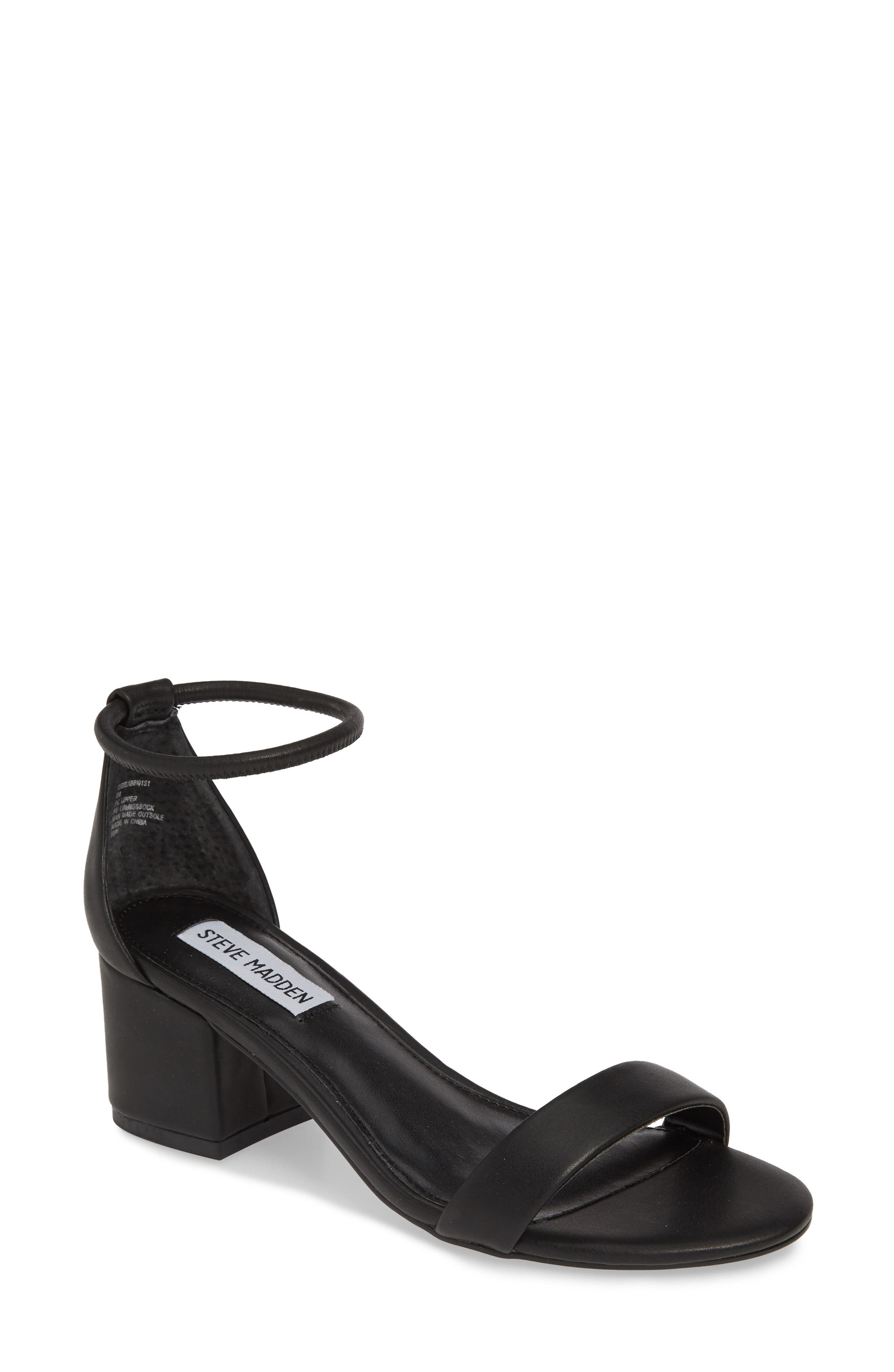 Ibbie Sandal, Main, color, BLACK