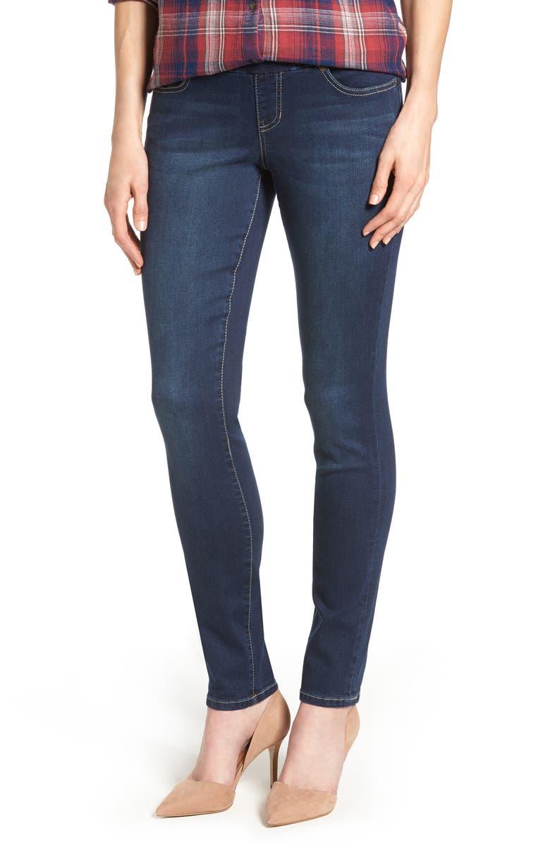 JAG JEANS Nora Stretch Skinny Jeans, Main, color, DARK INDIGO