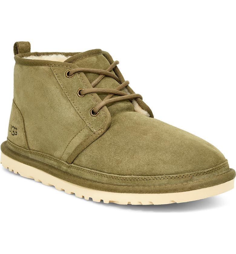 UGG<SUP>®</SUP> Neumel Chukka Boot, Main, color, MOSS GREEN