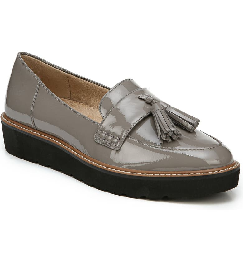 NATURALIZER August Loafer, Main, color, GREY FROST LEATHER