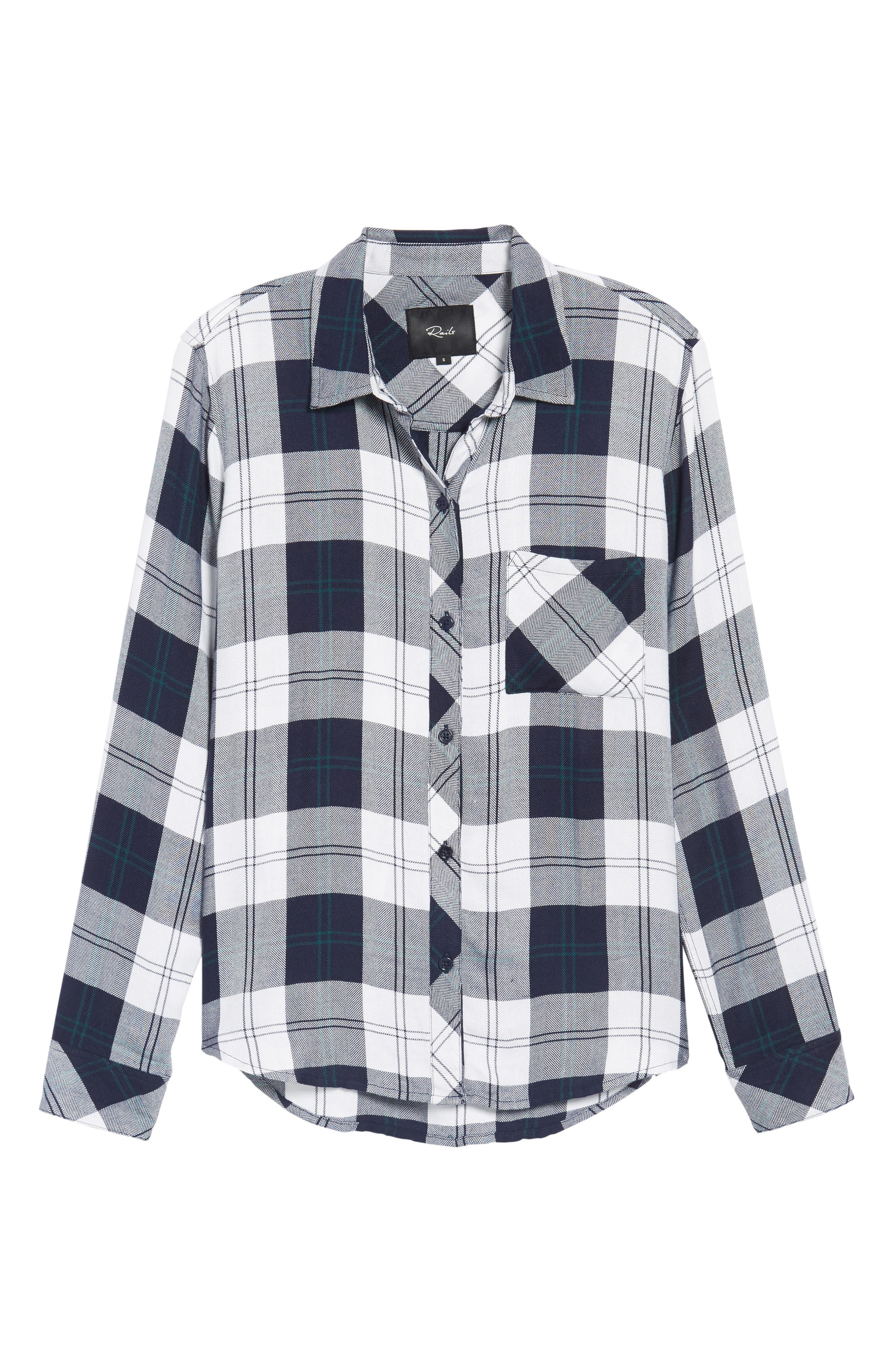 ,                             Hunter Plaid Shirt,                             Alternate thumbnail 348, color,                             413