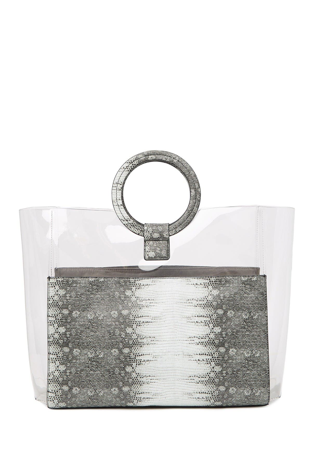 Image of Vince Camuto Clea Faux Leather Tote
