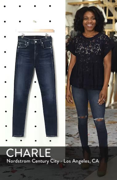Sculpt - Rocket High Waist Skinny Jeans, sales video thumbnail