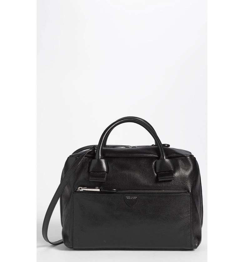 MARC JACOBS 'Prince - Small Antonia' Leather Satchel, Main, color, 001