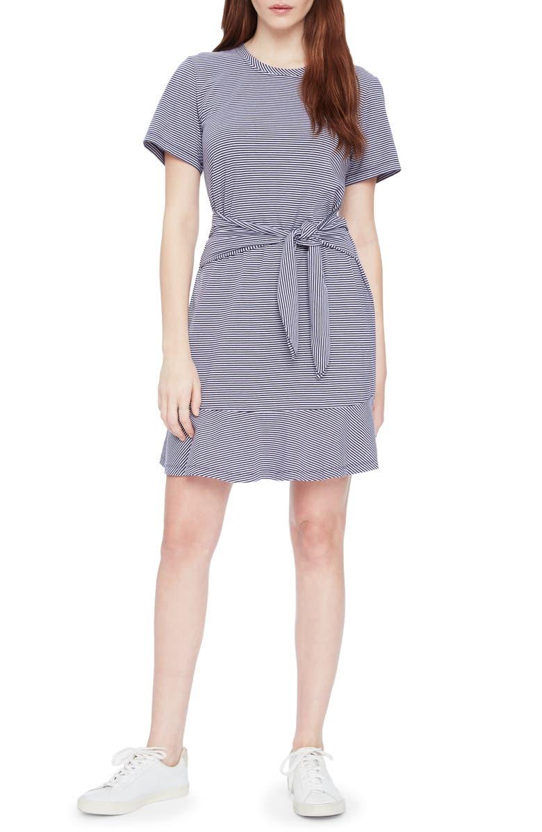 PARKER Annika Stripe Stretch Cotton Minidress, Main, color, TESSA STRIPE