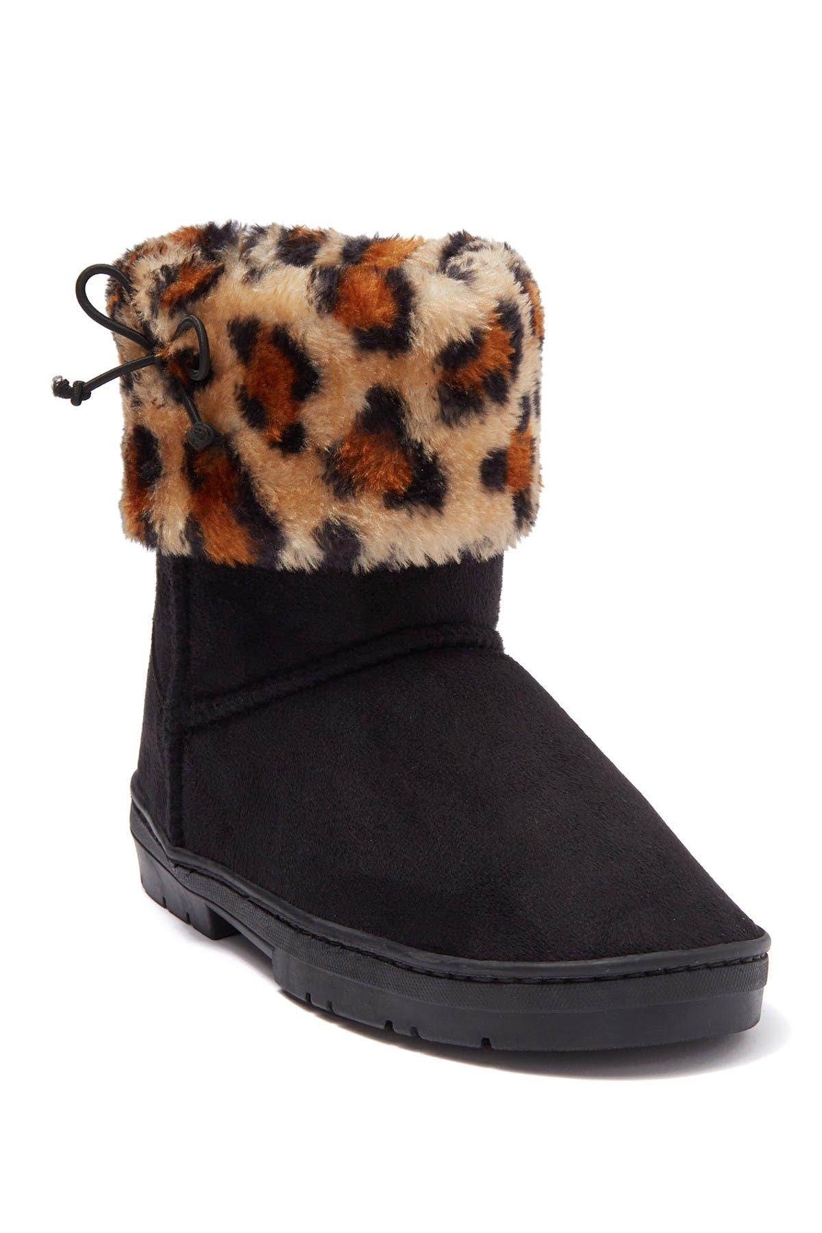 Bebe Winter Faux Fur Boots