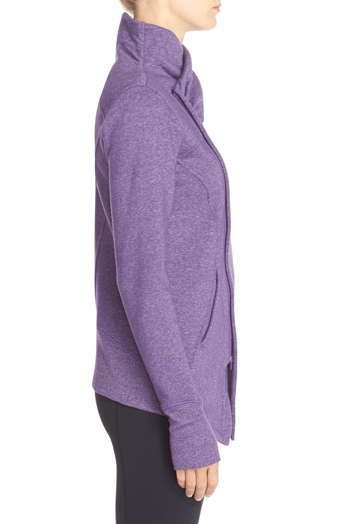 ,                             'Snowdrift' Asymmetrical Zip Sweatshirt,                             Alternate thumbnail 21, color,                             501