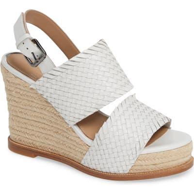 Linea Paolo Elaine Espadrille Wedge Sandal, White