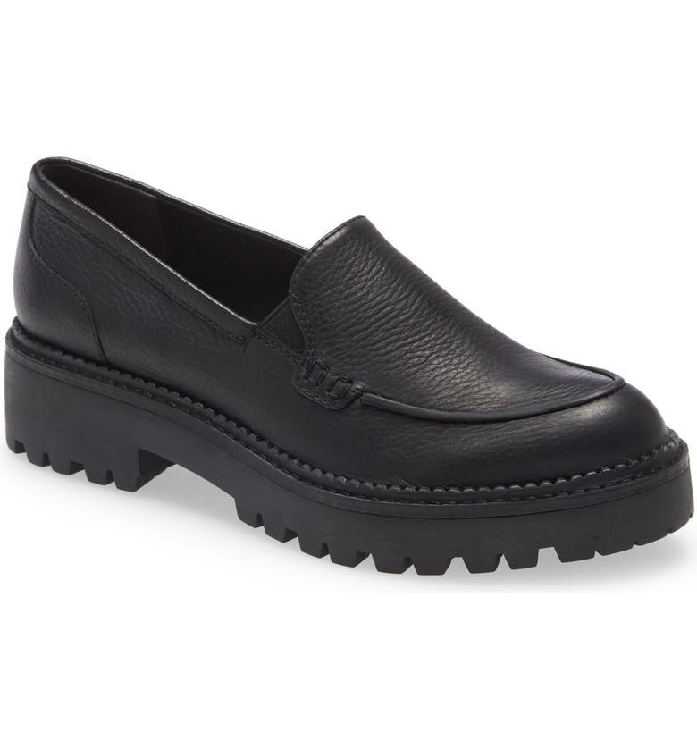 CASLON<SUP>®</SUP> Millany Loafer, Main, color, BLACK
