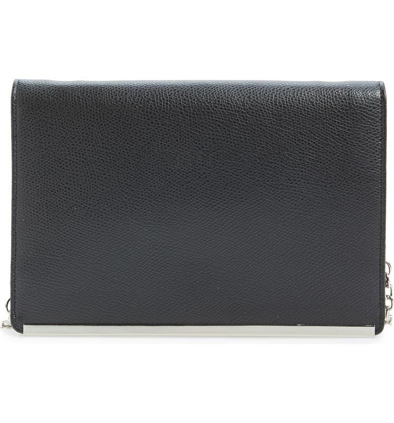 HALOGEN<SUP>®</SUP> Crossbody Clutch Wallet, Main, color, 001
