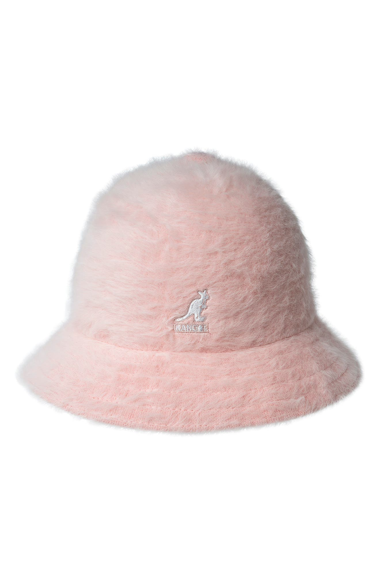 Kangol\\\'s iconic furry angora blend adds throwback vibes to a casual bucket cap with logo embroidery adding a signature touch to this \\\'80s hip-hop favorite. Style Name: Kangol Furgora Casual Bucket Hat. Style Number: 5738208. Available in stores.