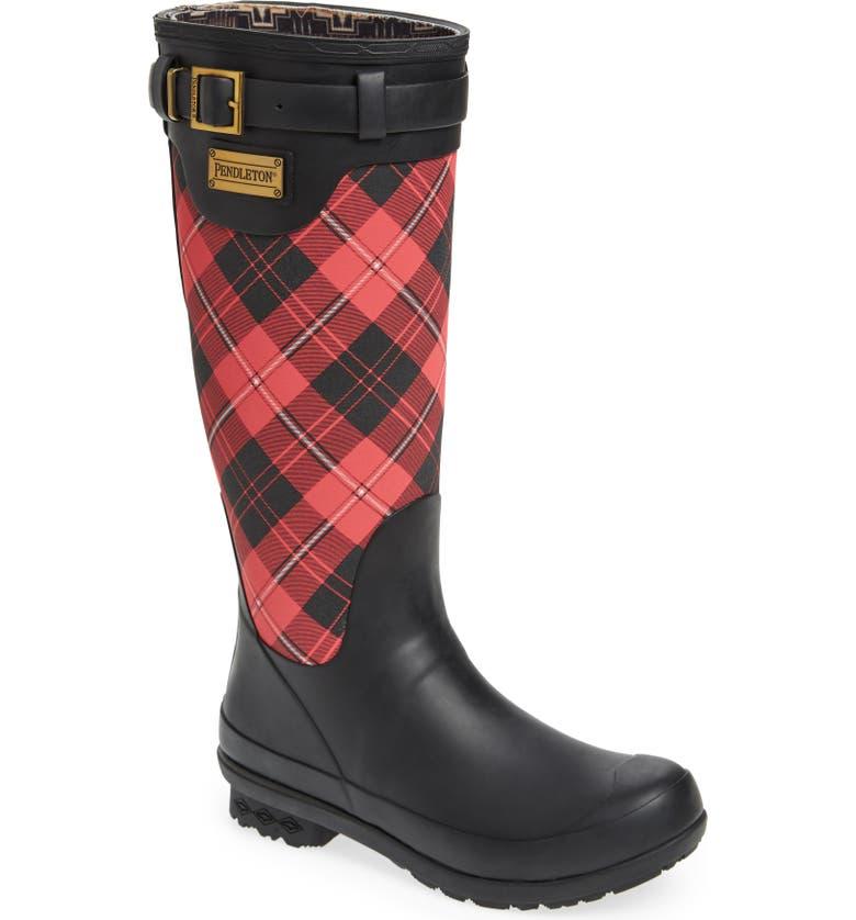 PENDLETON Heritage Cunningham Tartan Tall Boot, Main, color, 615