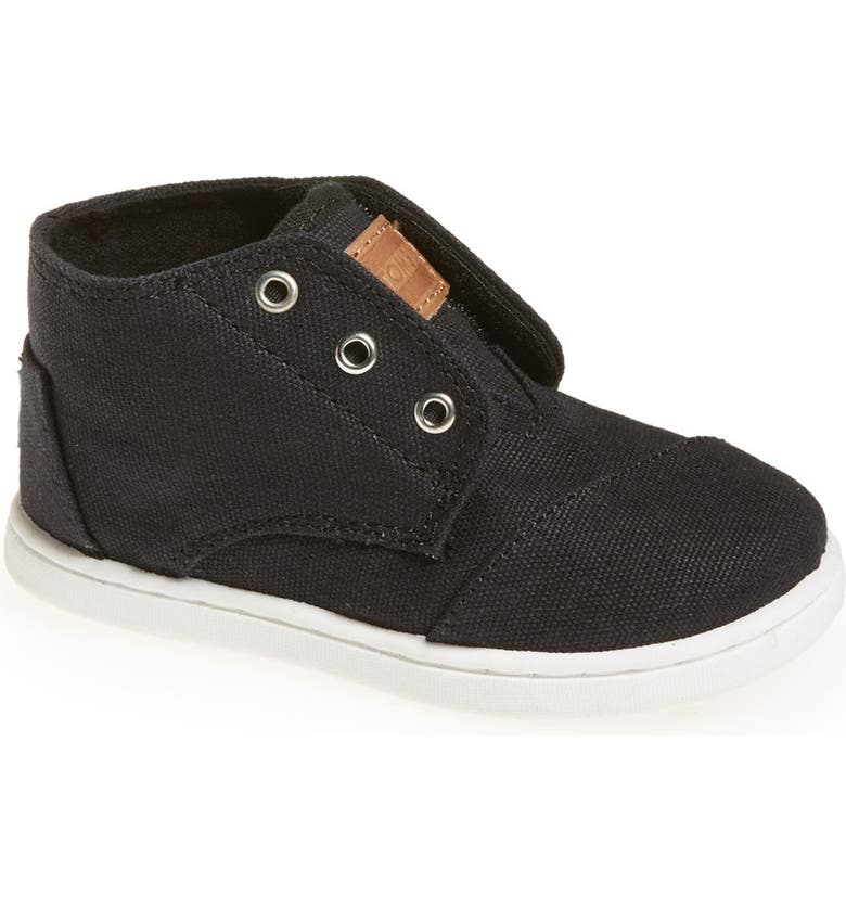 TOMS 'Paseo - Tiny' Mid Bootie, Main, color, 001