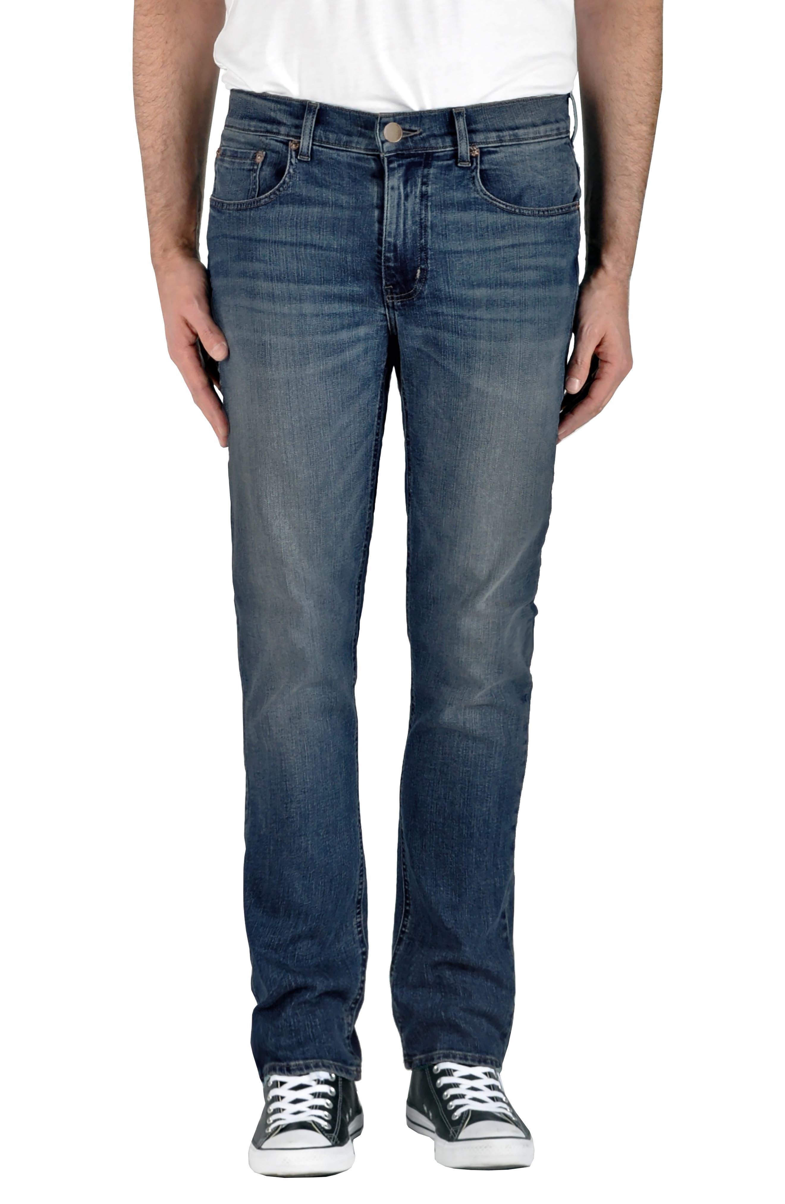 Men's Modern American Lexington Slim Leg Jeans,  40 - Blue