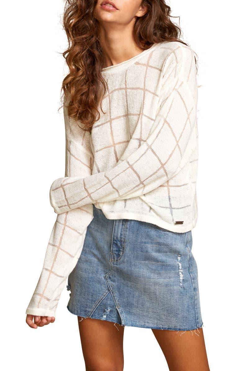 RVCA Range Check Sweater, Main, color, 900