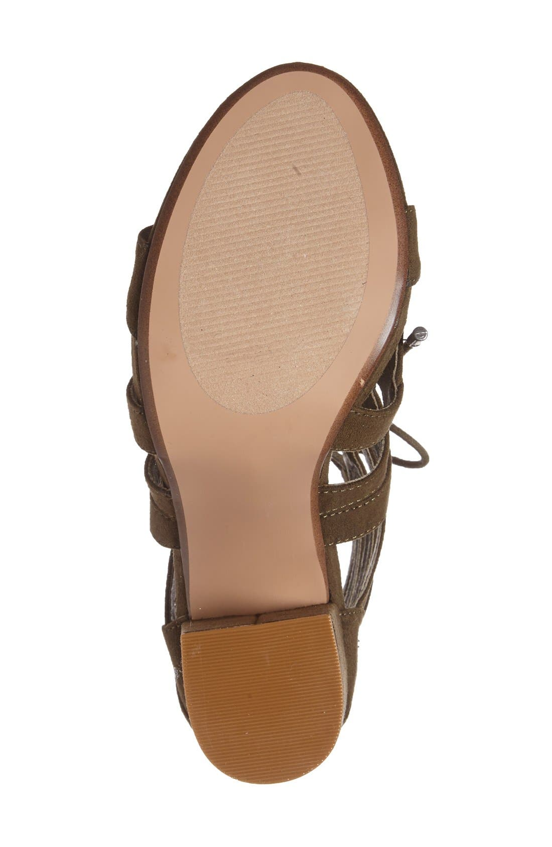 ,                             'Gal' Strappy Lace-Up Sandal,                             Alternate thumbnail 12, color,                             300