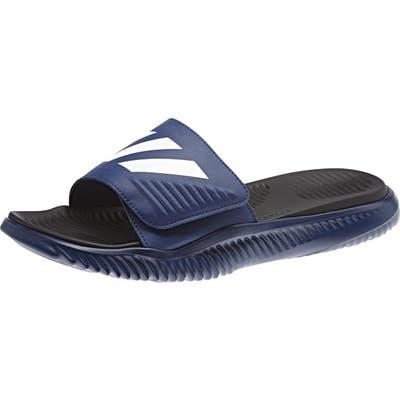 Adidas Alphabounce Slide Sandal, Blue