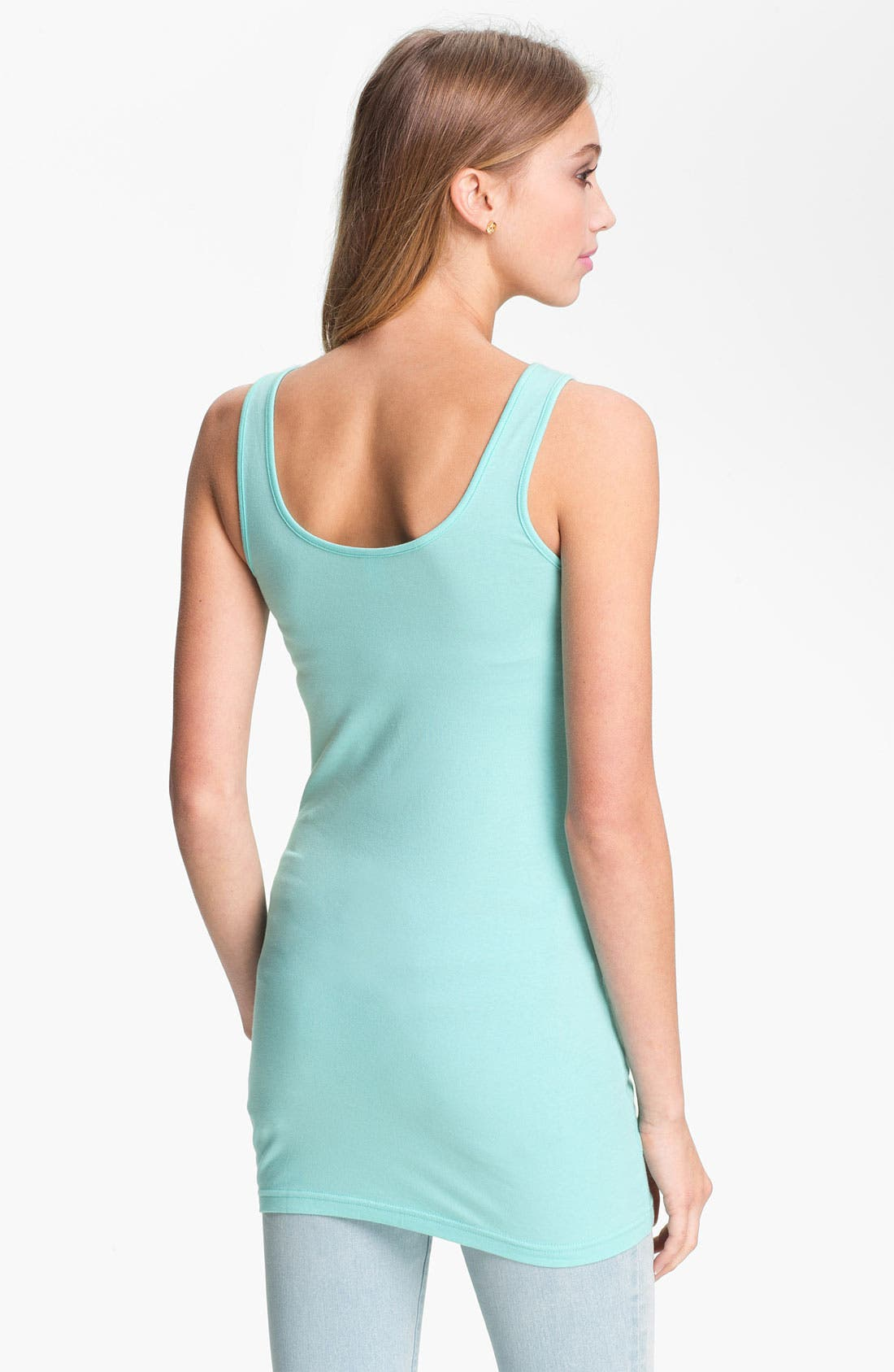 ,                             Double Scoop Neck Tank,                             Alternate thumbnail 125, color,                             318