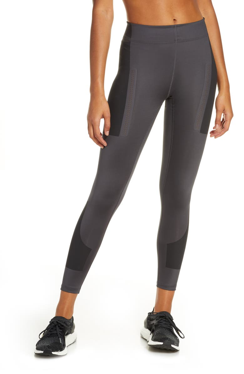 ADIDAS BY STELLA MCCARTNEY FitSense+ Training Tights, Main, color, UTILITY BLACK