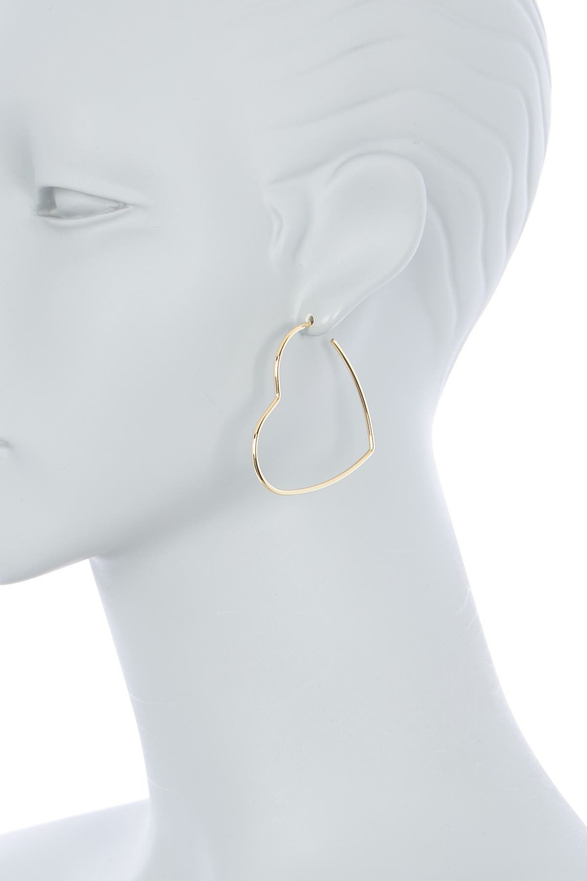 Image of AREA STARS Thin Star Earrings