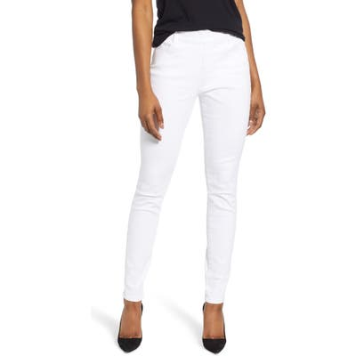 Jag Jeans Bryn Pull-On Skinny Jeans, White