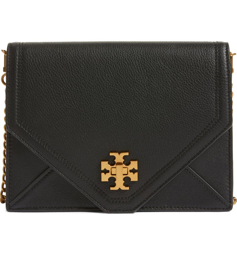 cff9274970 Tory Burch Kira Leather Envelope Clutch | Nordstrom