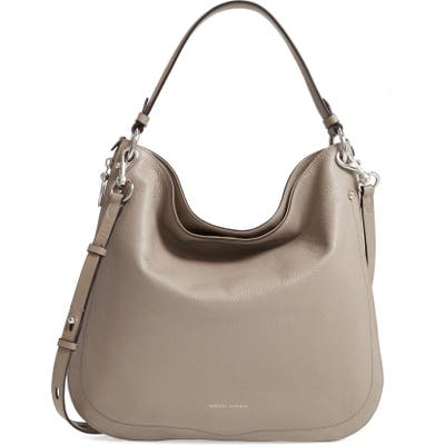 Rebecca Minkoff Jody Convertible Leather Hobo Bag - Grey