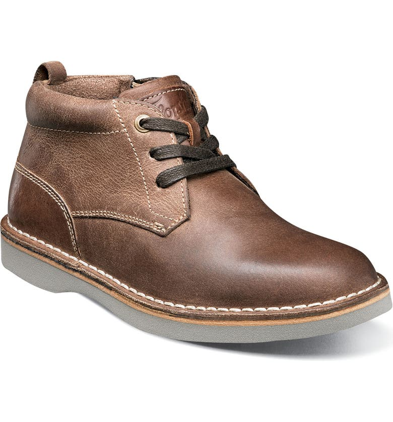 FLORSHEIM Chukka Boot, Main, color, BROWN CRAZY HORSE LEATHER