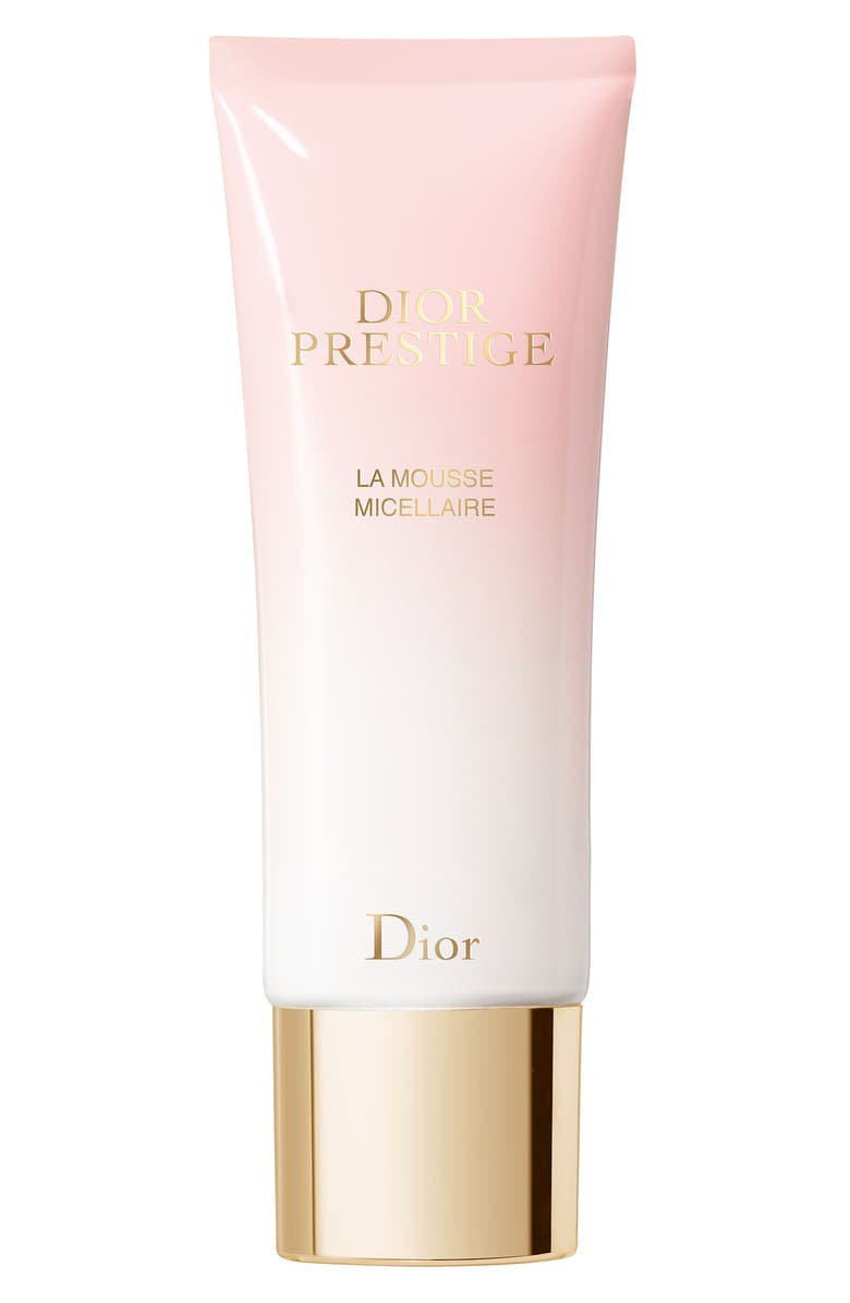 DIOR Prestige La Mousse Micellaire Rose Whipped Mousse Cleanser, Main, color, NO COLOR