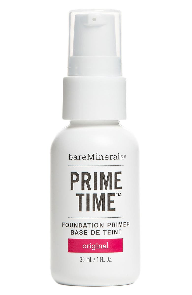 BAREMINERALS<SUP>®</SUP> bareVitamins 'Prime Time' Foundation Primer, Main, color, 000