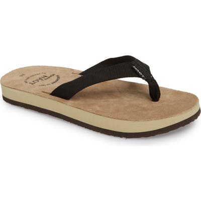 Naot Island Flip Flop, Black