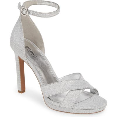 Michael Michael Kors Alexia Halo Strap Sandal, Metallic
