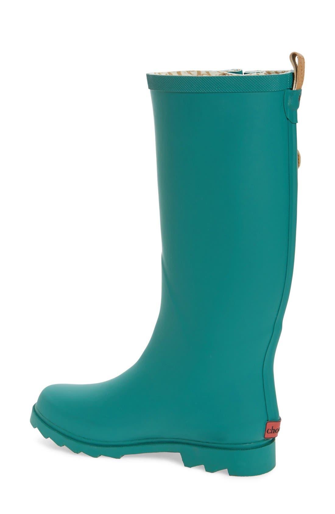 ,                             'Top Solid' Rain Boot,                             Alternate thumbnail 32, color,                             309