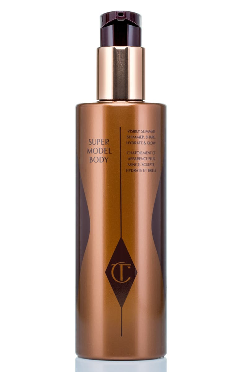 CHARLOTTE TILBURY Jumbo Supermodel Body Shimmer Shape, Hydrate & Glow, Main, color, NO COLOR