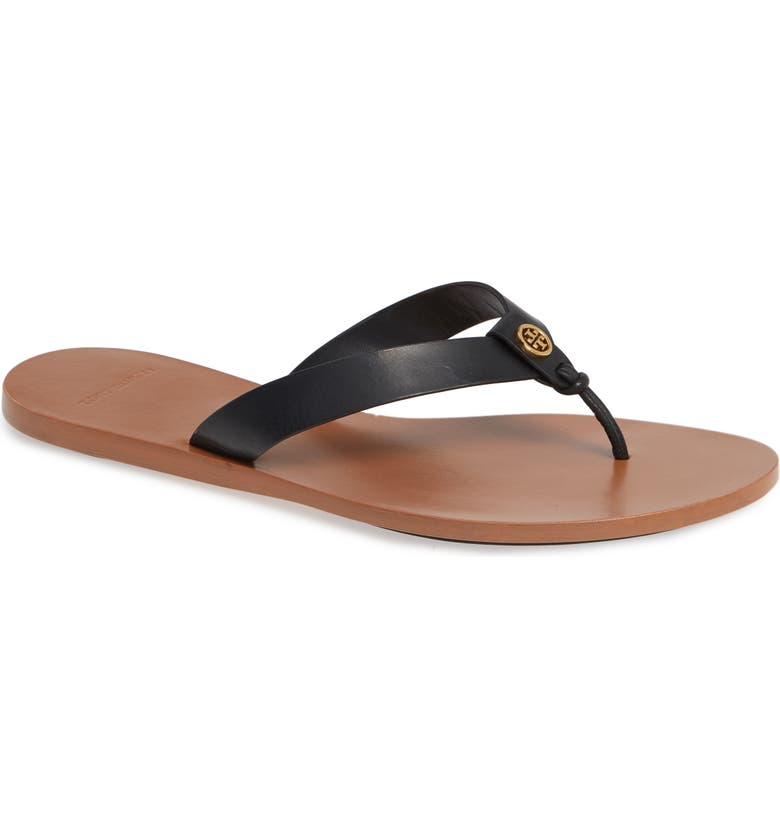 TORY BURCH Manon Flip Flop, Main, color, PERFECT BLACK