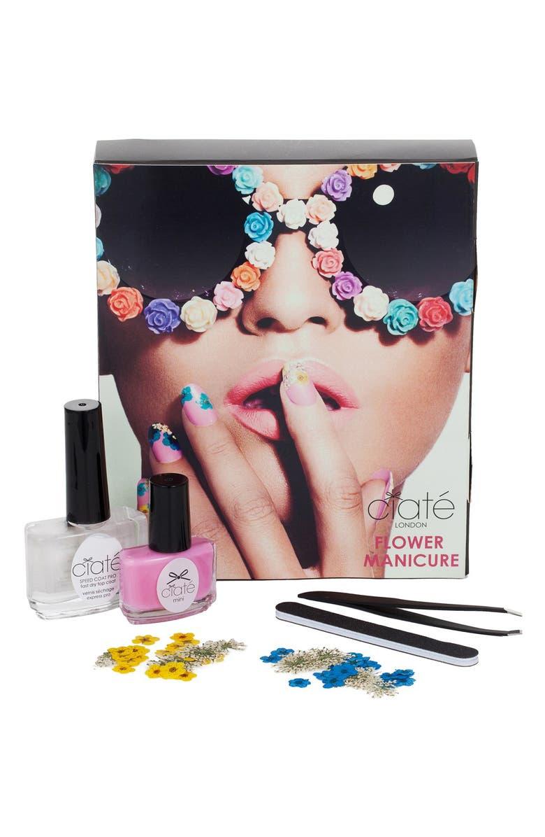 CIATÉ 'Flower Manicure - Strike-a-Posy' Set, Main, color, 000