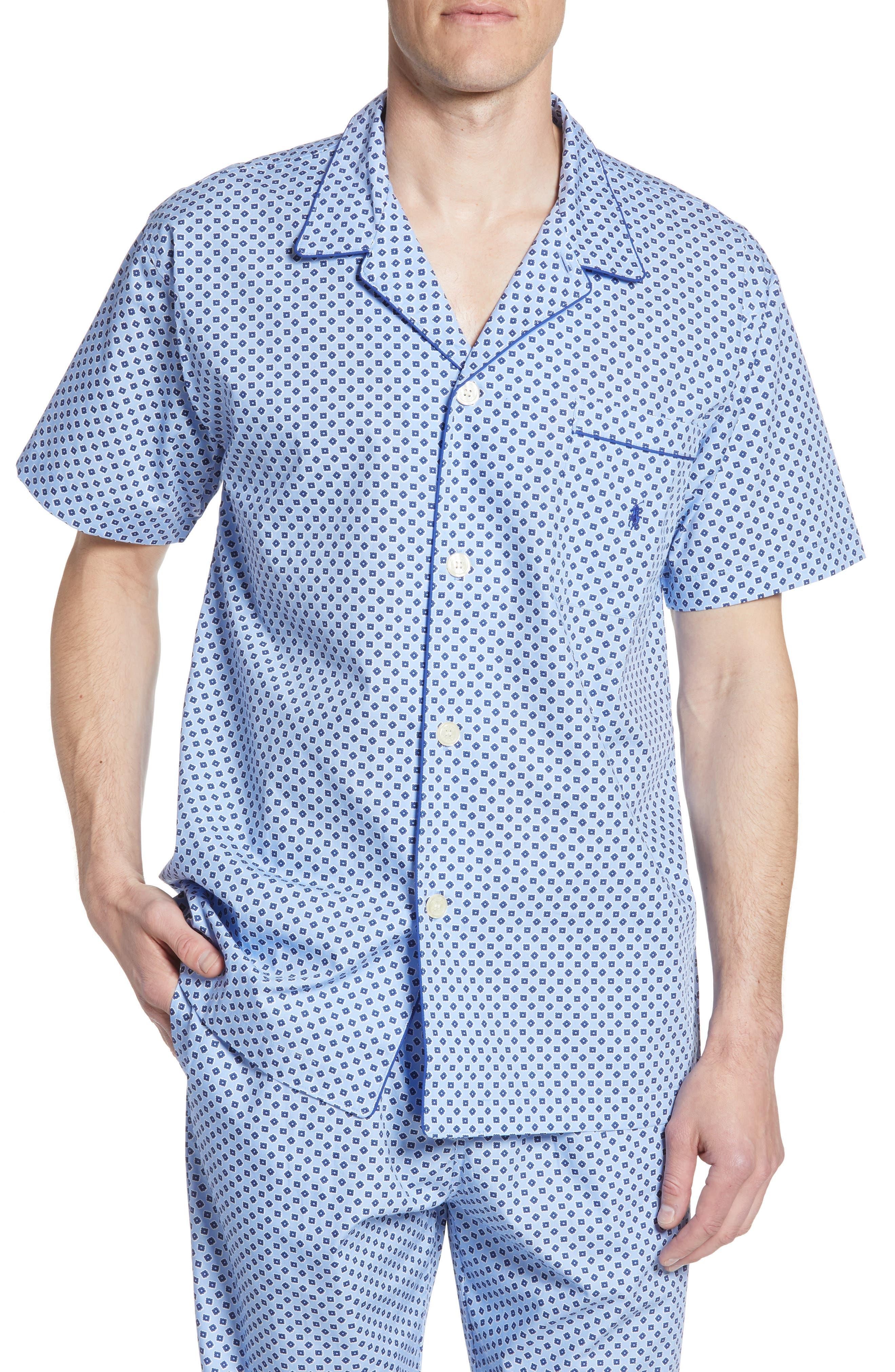 Polo Ralph Lauren Classic Pajama Shirt, Blue