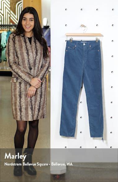 Harper High Waist Ankle Corduroy Pants, sales video thumbnail