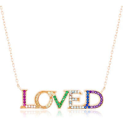 Lesa Michele Loved Necklace